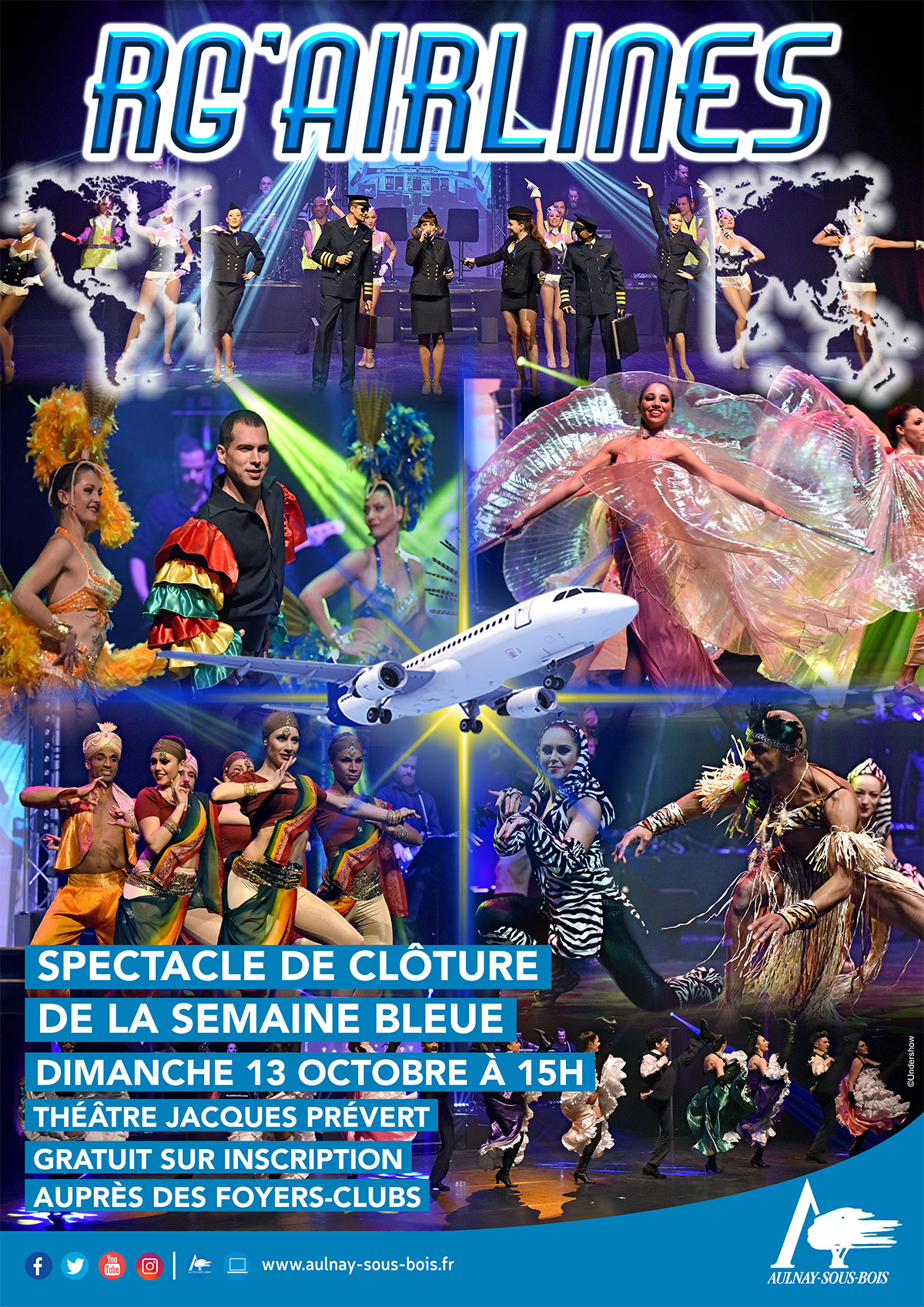 spectacle senior RG'AIRLINES
